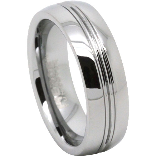 Mens Tungsten Wedding Ring