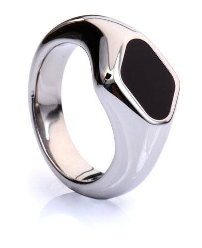 Titanium Signet Ring