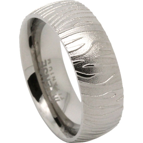Tiger Titanium Ring