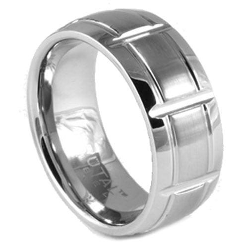Steel Mens Ring