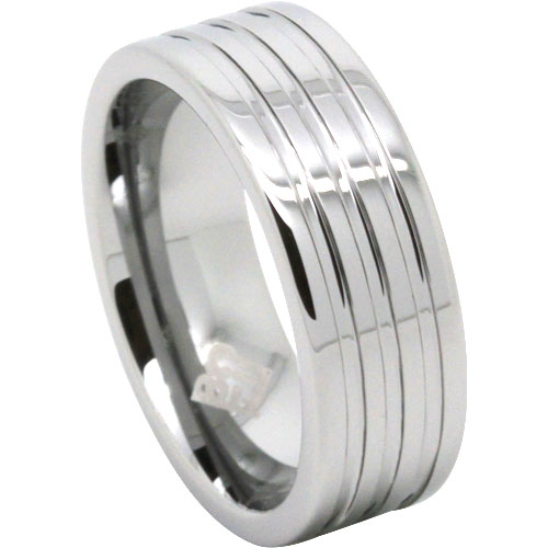 Tungsten Mens Ring