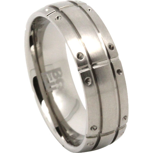 Titanium Mens Ring