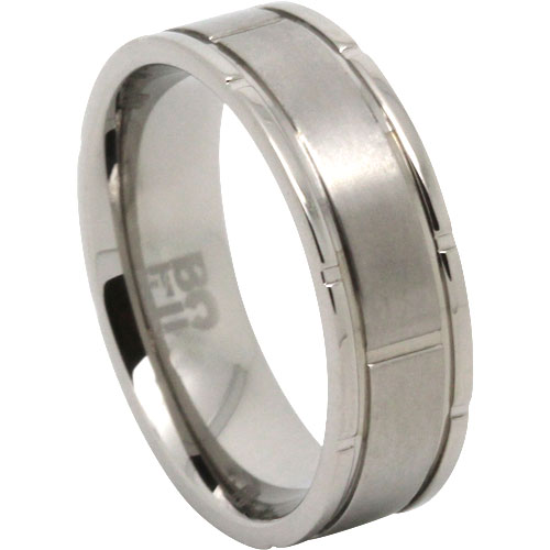 Titanium Mens Ring