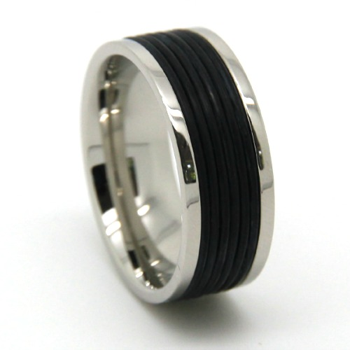 Titanium Rubber Ring