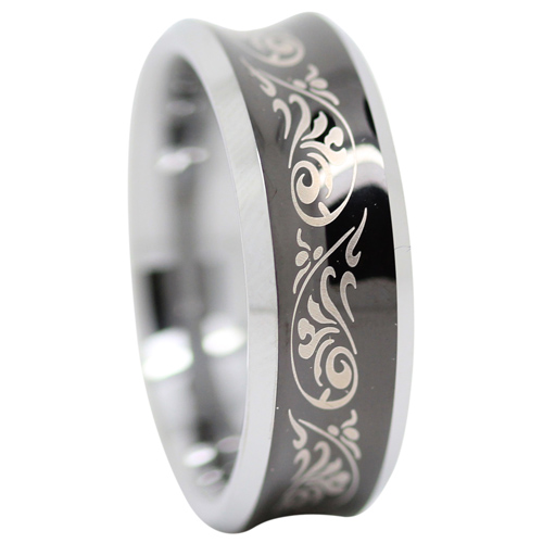 Unique Tungsten Ring