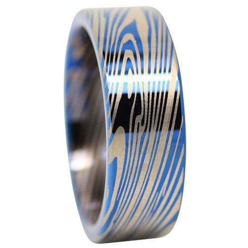 Unique Mens Tungsten Ring