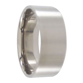 Titanium Brushed Mens Ring