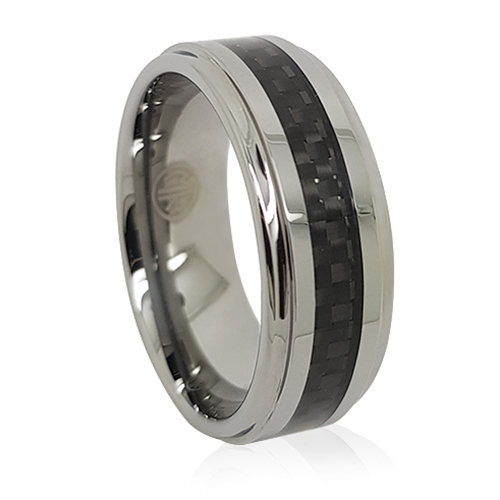 Carbon Fibre Tungsten Ring